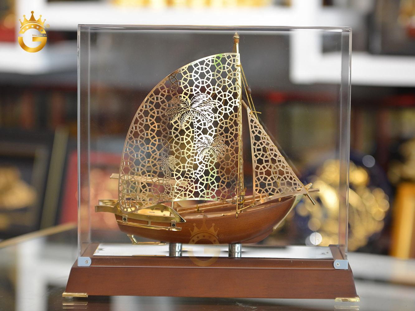 Mô hình quà tặng thuyền buồm đẹp tinh xảo từng chi tiết
