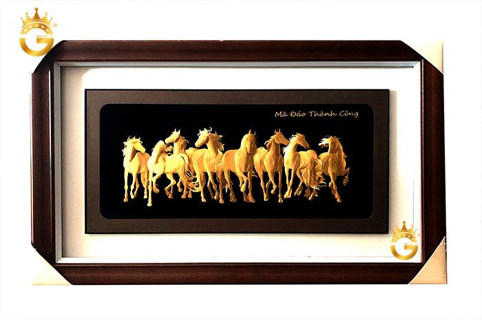 Ý nghĩa tranh bằng vàng mã đáo thành công để bàn làm việc
