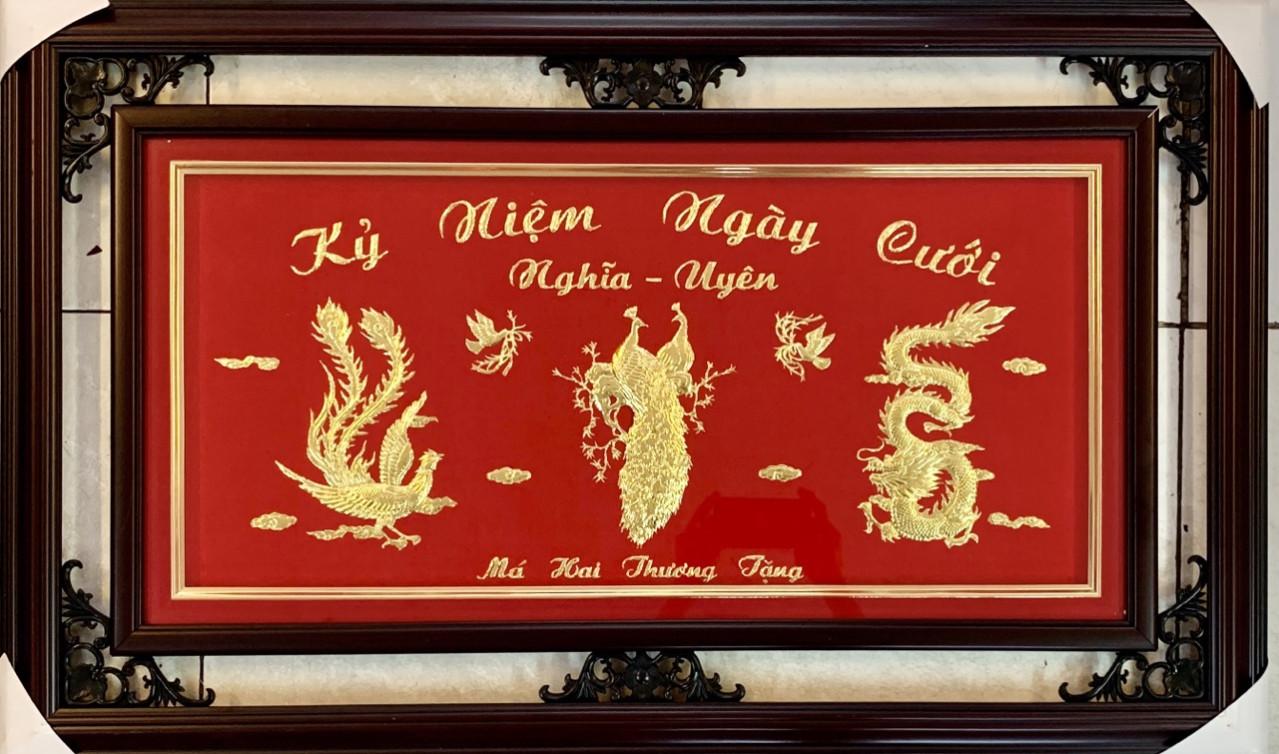 Quà vàng 24k cao cấp- quà tặng kỷ niệm ngày cưới ý nghĩa tại King Gold Art