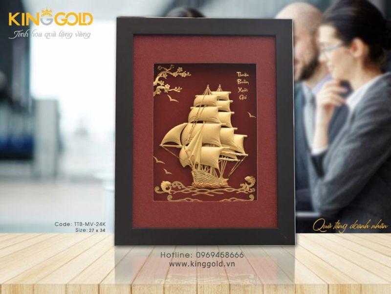 Thuyền buồm quà tặng doanh nhân, cửa hàng bán quà tặng tranh thuyền buồm