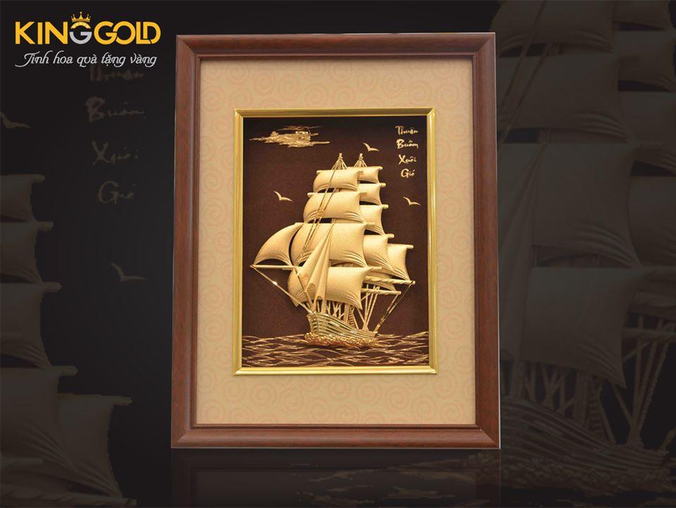 tranh thuyền buồm