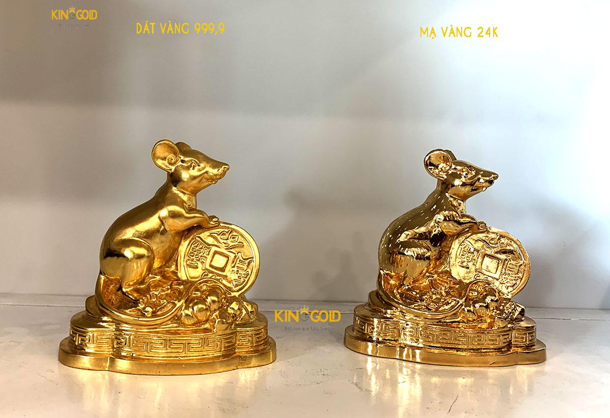 Cách nhận biết mạ vàng và dát vàng hiện nay