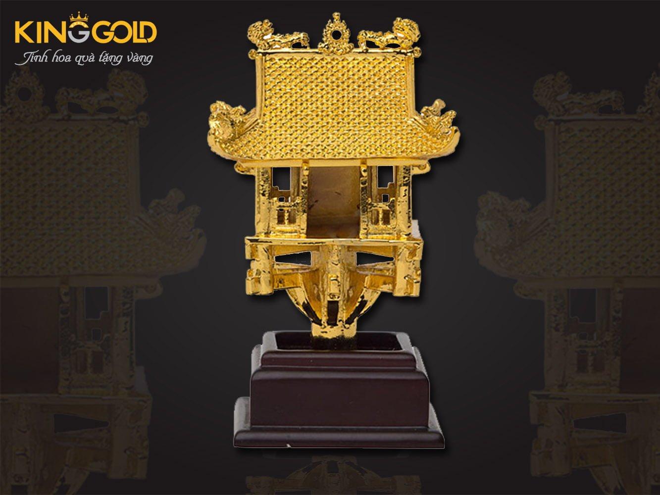 Chùa một cột mạ vàng, chùa một cột mini đẹp tinh xảo