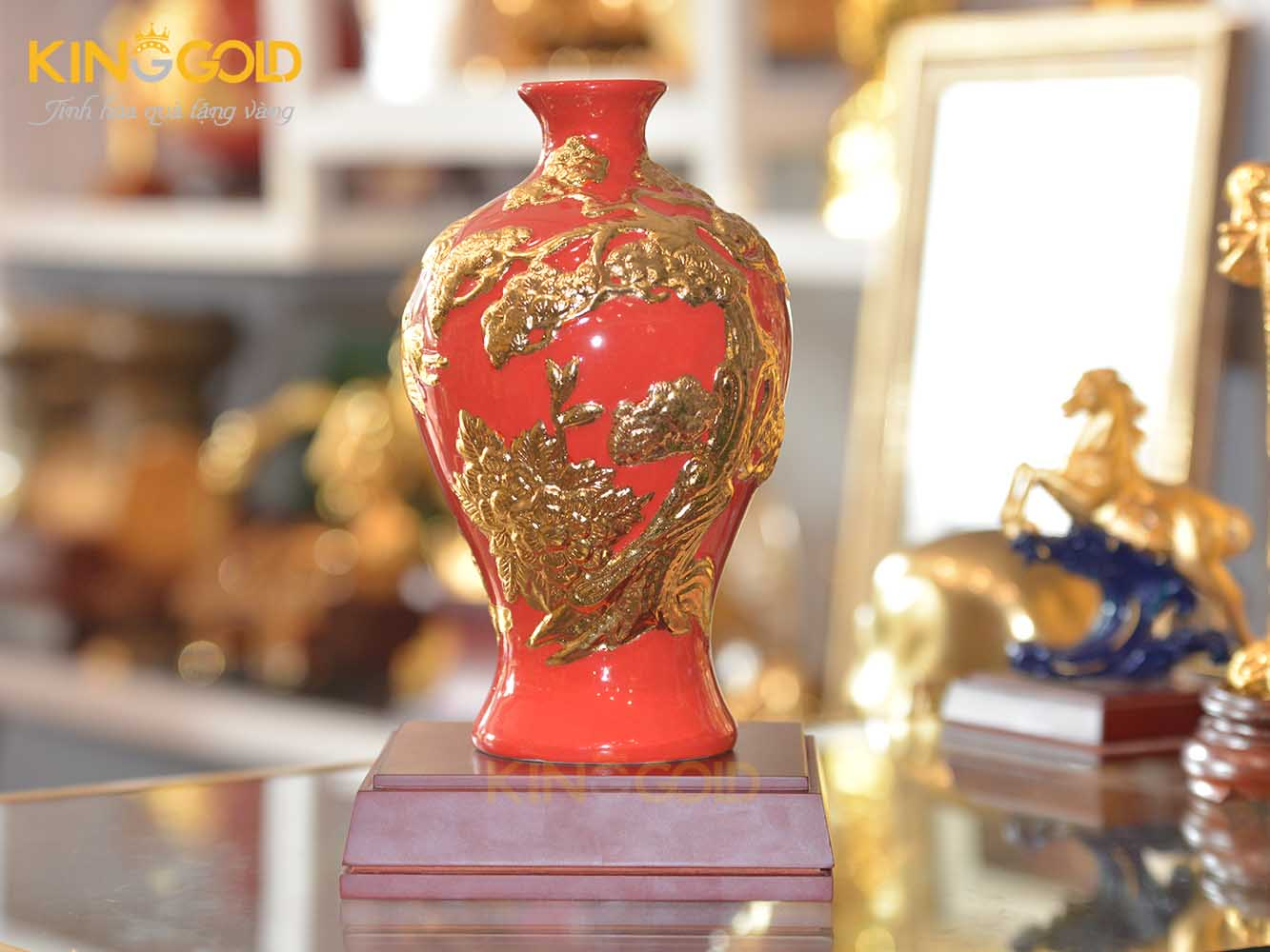 Quà tặng sếp - Mai Bình Tích Lộc - Thuận Buồm Xuôi Gió