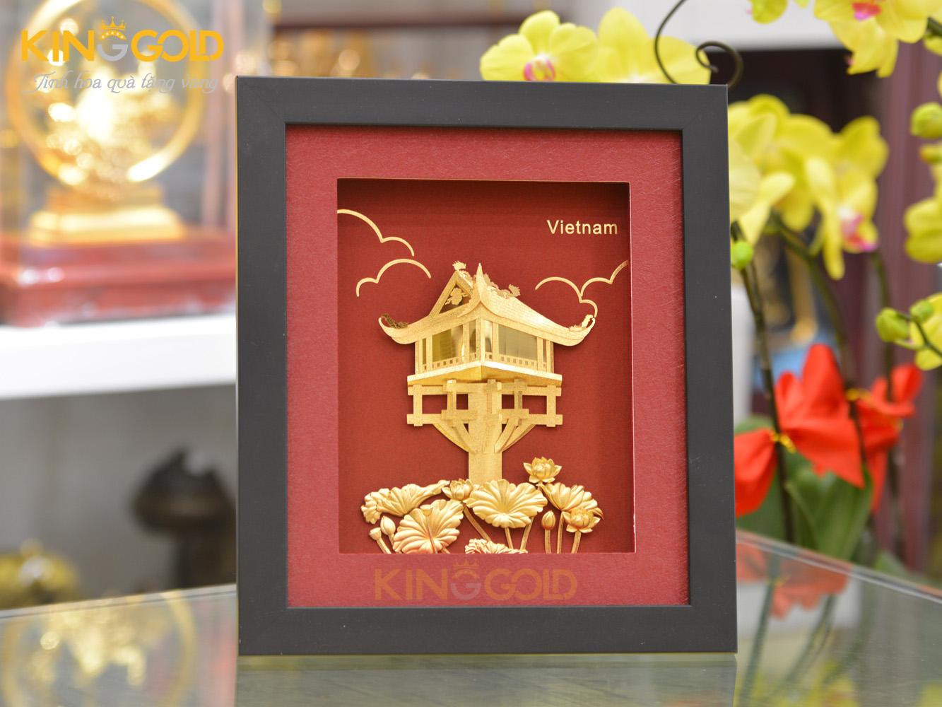 Tranh vàng chùa một cột, biểu tượng văn hóa Hà Nội