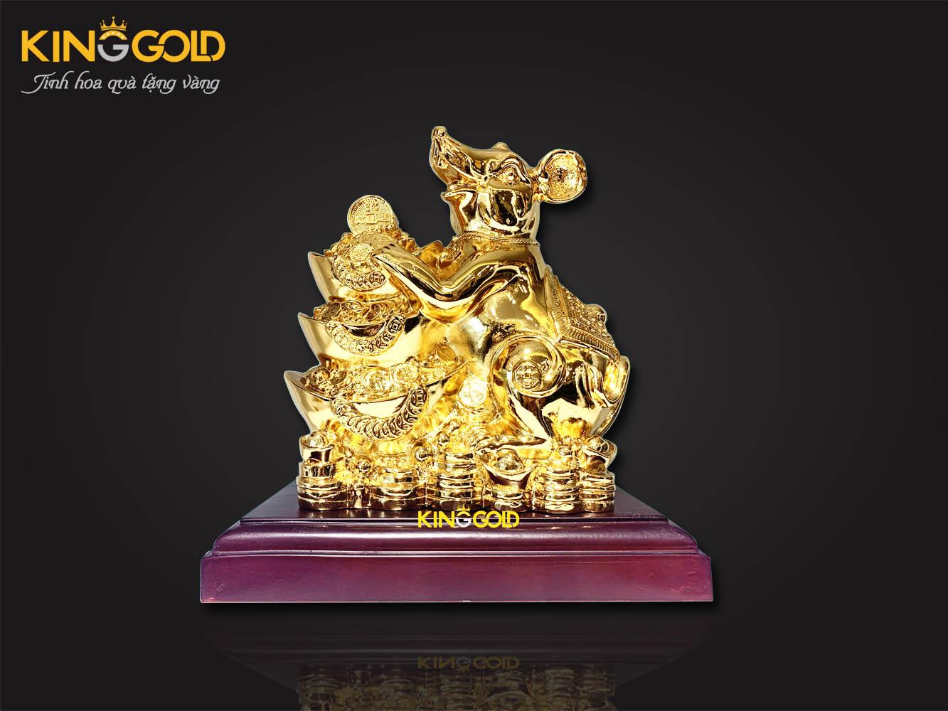 3 mẫu tượng chuột tài chính mạ vàng nên trưng bày năm 2020